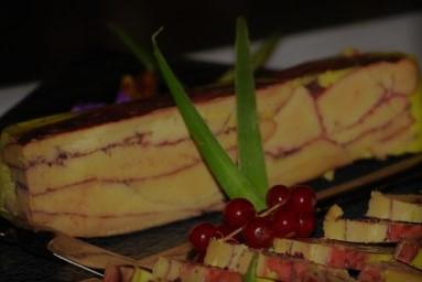 Fois gras au castillon côtes de bordeaux